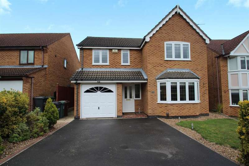 4 Bedrooms Detached House for sale in Kingfisher Road, Mountsorrel, Loughborough