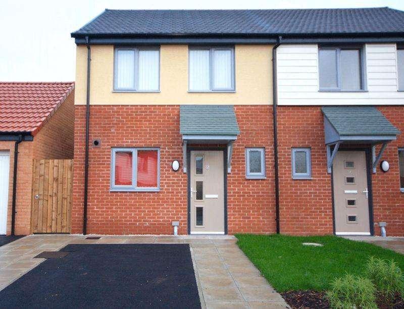 2 Bedrooms Semi Detached House for rent in Iris Grove, Darlington