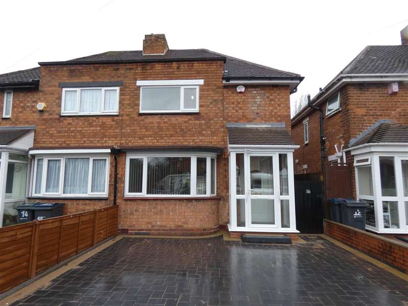 3 Bedrooms Semi Detached House for rent in Tiffield Road, South Yardley, Birmingham
