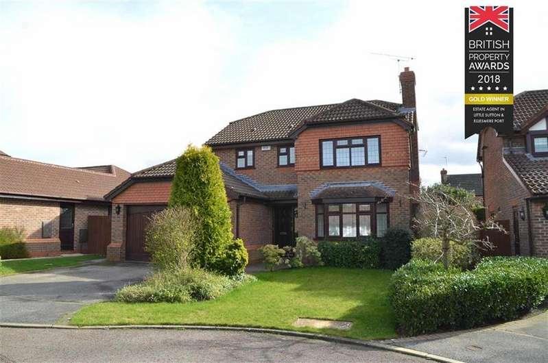 4 Bedrooms Detached House for sale in Orchil Close, Ledsham Park, CH66