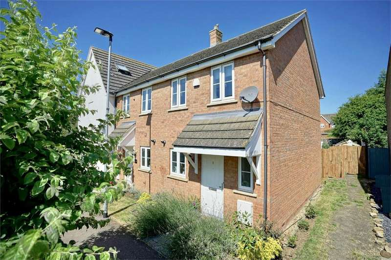 2 Bedrooms End Of Terrace House for sale in Beanfield Close, Riseley