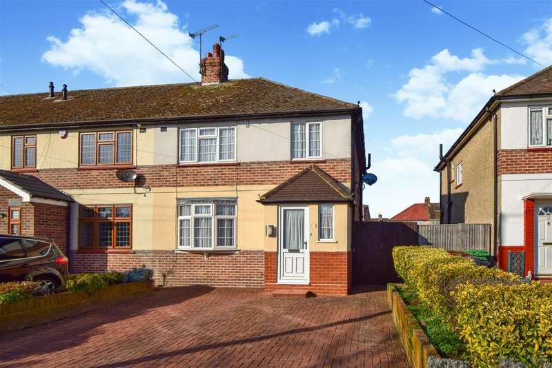 3 Bedrooms End Of Terrace House for sale in Phipps Road, Slough, SL1