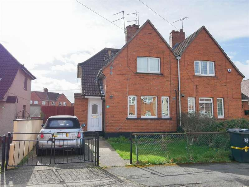 3 Bedrooms Semi Detached House for sale in Padstow Road, Knowle, Bristol, BS4 1EN