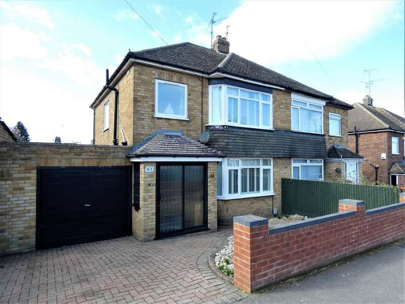 3 Bedrooms Semi Detached House for sale in Leafields, Houghton Regis