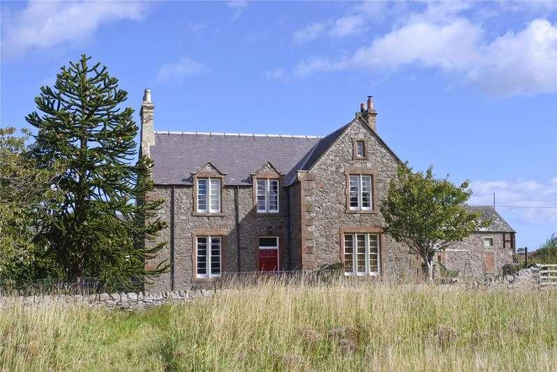 6 Bedrooms Detached House for sale in Ayton Mains Farmhouse, Ayton, Eyemouth, Berwickshire