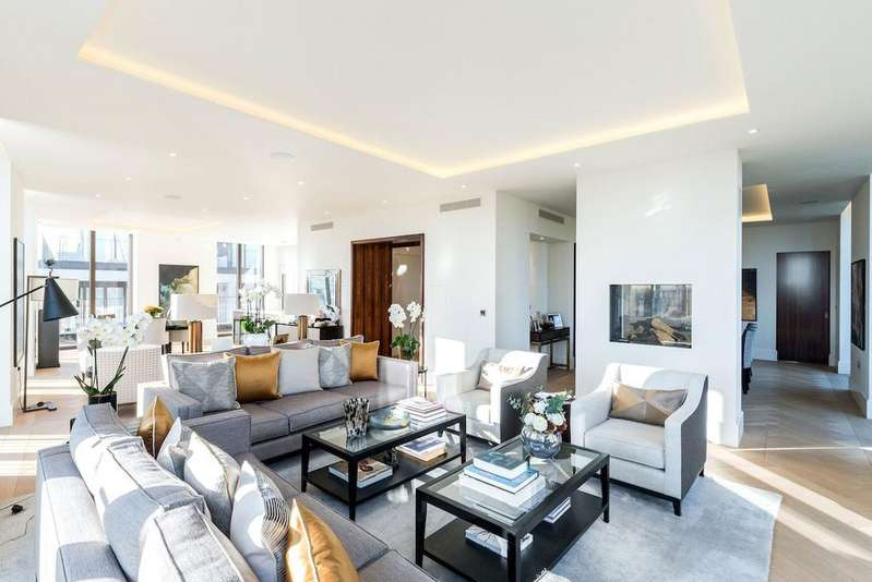 4 Bedrooms Penthouse Flat for sale in St. Edmunds Terrace, St. John's Wood, London, NW8