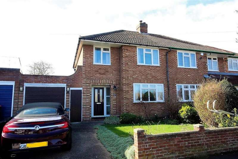 3 Bedrooms Semi Detached House for sale in Fairholme, Bedford