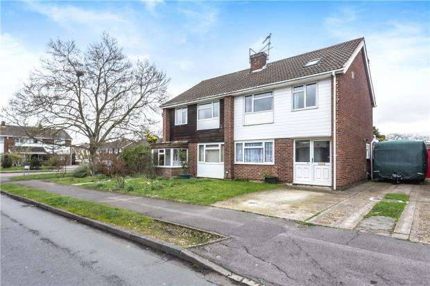 4 Bedrooms Semi Detached House for sale in Hudson Road, Woodley, Reading