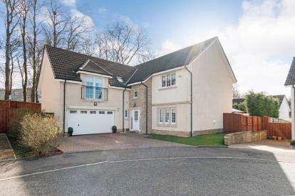 5 Bedrooms Detached House for sale in Lapwing Crescent, Motherwell