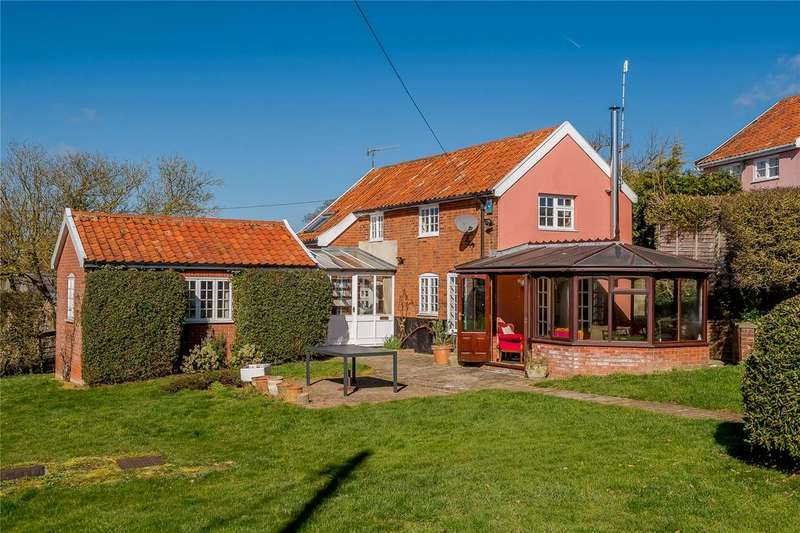 3 Bedrooms Detached House for sale in Mill Lane, Bruisyard, Saxmundham, Suffolk