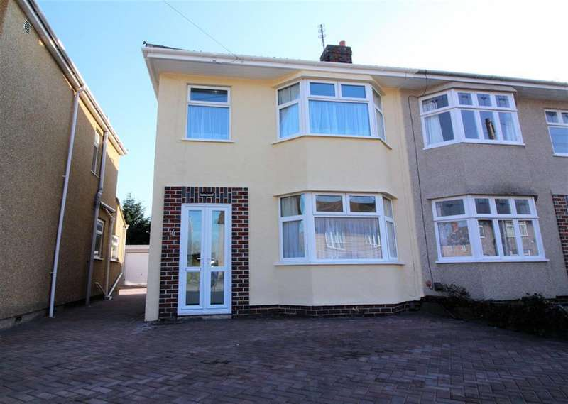 3 Bedrooms Semi Detached House for sale in Sherston Close, Fishponds, Bristol, BS16 2LP