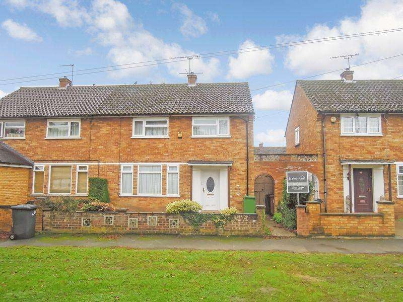 3 Bedrooms Semi Detached House for sale in Reddington Drive, Langley