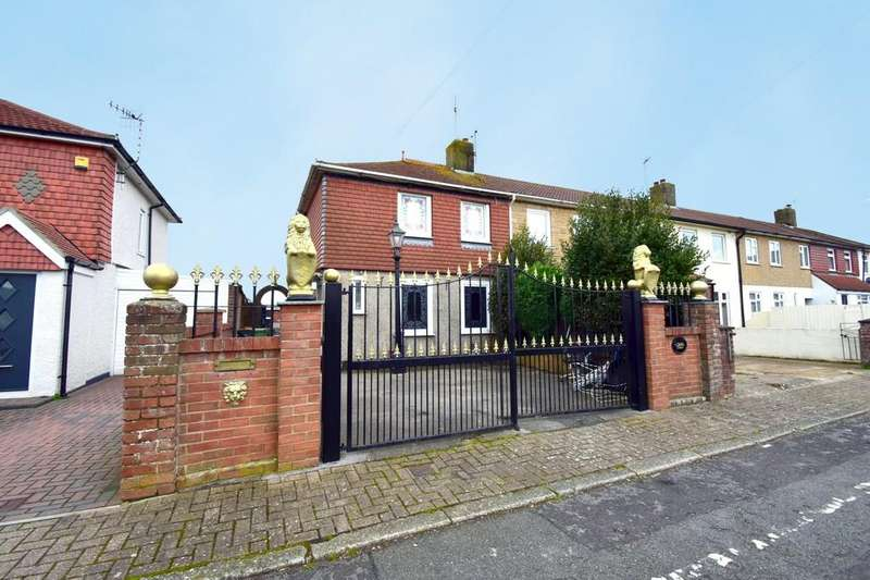 3 Bedrooms End Of Terrace House for sale in Range Green, Tipner, Portsmouth