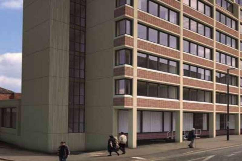 2 Bedrooms Flat for sale in Gower Street, Derby, DE1