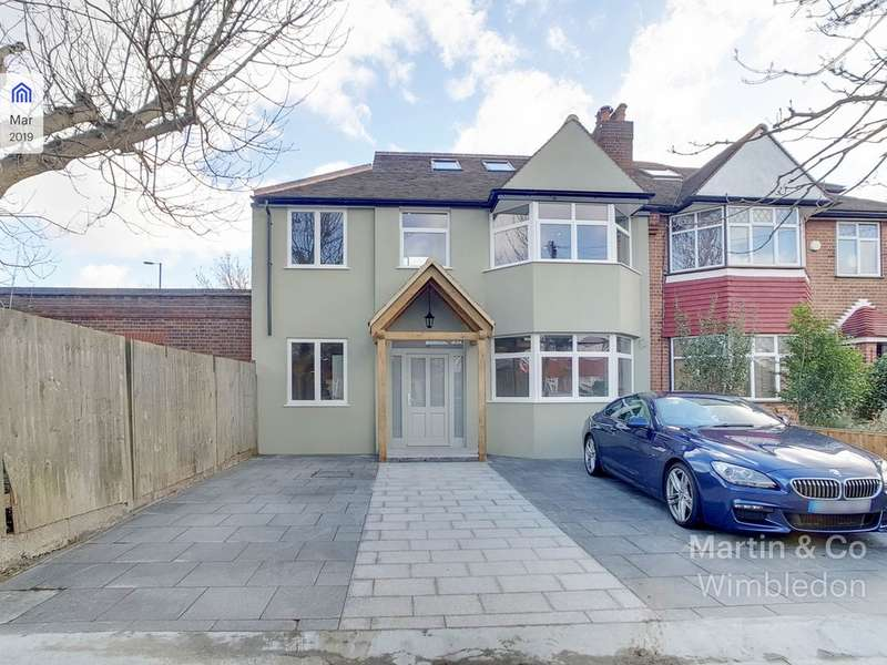 5 Bedrooms Semi Detached House for sale in Mossville Gardens, Morden SM4