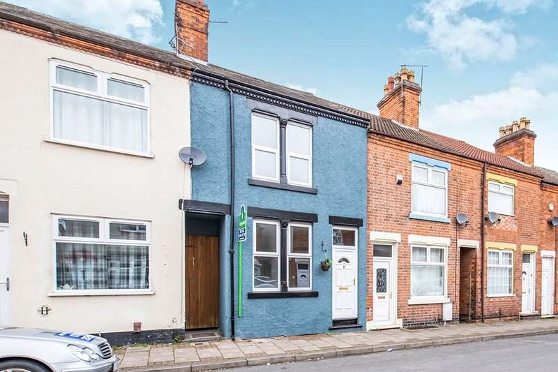 2 Bedrooms Property for sale in Judges Street, Loughborough, LE11