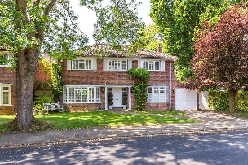 4 Bedrooms Detached House for sale in Sunderland Avenue, St. Albans, Hertfordshire