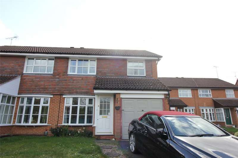 3 Bedrooms Semi Detached House for sale in Armstrong Way, Woodley, Reading, Berkshire, RG5
