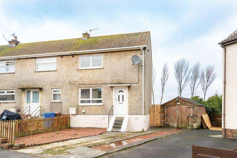 2 Bedrooms End Of Terrace House for sale in 54 Dunlop Terrace, Ayr, KA8 0SP