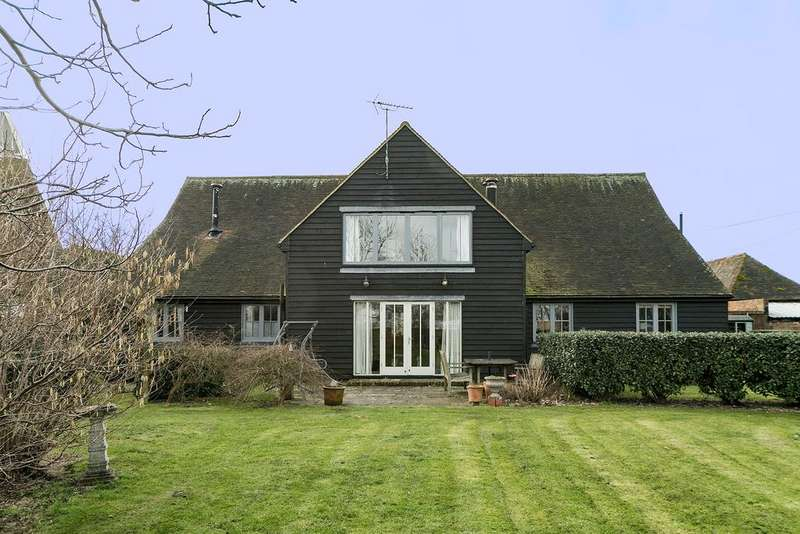 4 Bedrooms Detached House for sale in New House Lane, Sheldwich