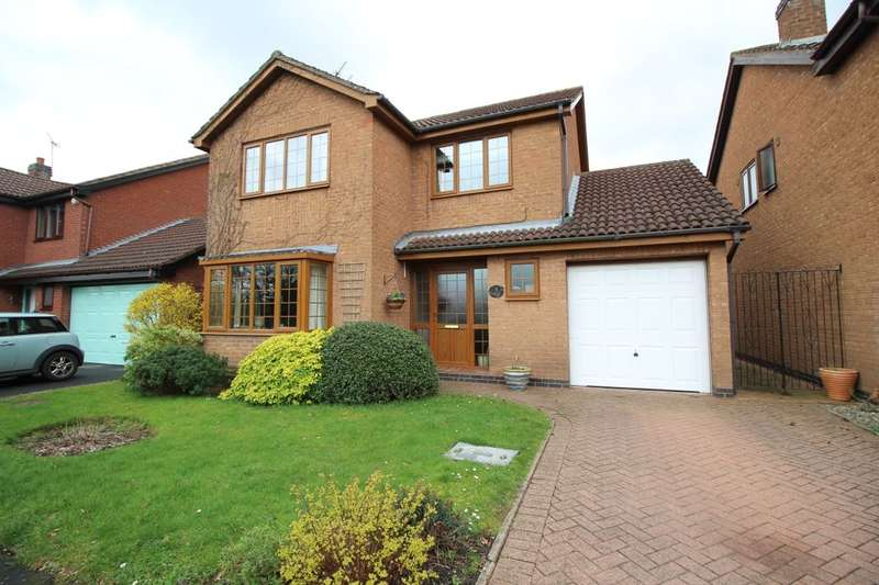 4 Bedrooms Detached House for sale in The Willows, Bedworth, CV12