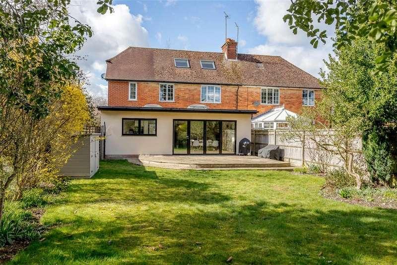 4 Bedrooms Semi Detached House for sale in Andover Road, Newbury, Berkshire, RG14
