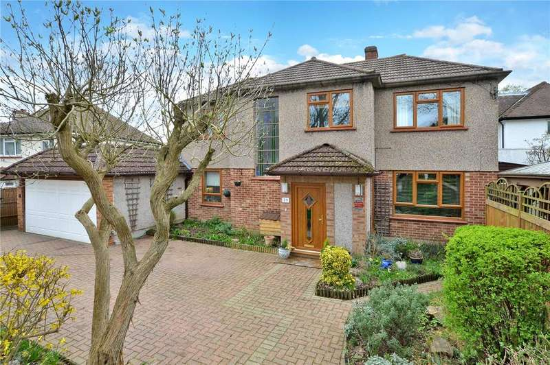 4 Bedrooms Detached House for sale in Wilbury Avenue, Cheam, Sutton, SM2