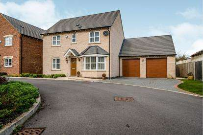 4 Bedrooms Detached House for sale in Dane Lane, Wilstead, Bedford, Bedfordshire