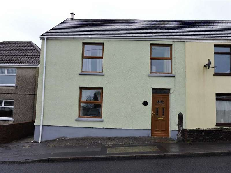 3 Bedrooms End Of Terrace House for sale in Heol Y Neuadd, Tumble