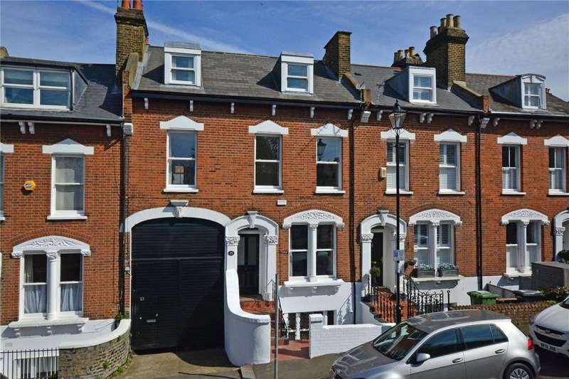 5 Bedrooms Terraced House for sale in Dartmouth Hill, Greenwich, London, SE10