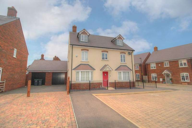 5 Bedrooms Detached House for sale in Avocet Road, Wixams, Bedfordshire, MK42