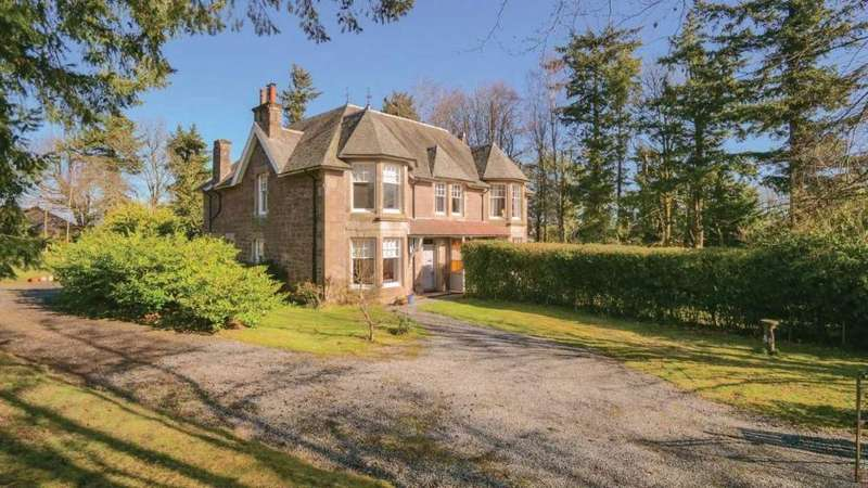 4 Bedrooms Semi Detached House for sale in Orchil Road, Auchterarder, Perthshire , PH3 1LS