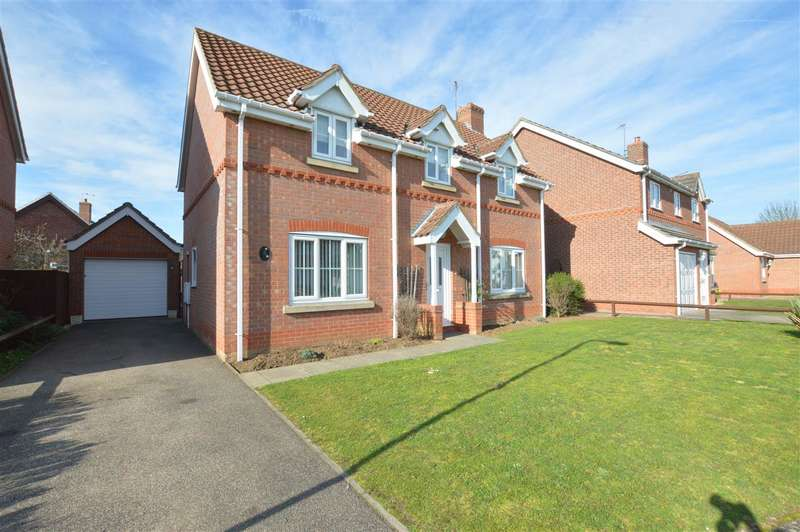 3 Bedrooms Detached House for sale in Houlden Way, Heckington, Sleaford