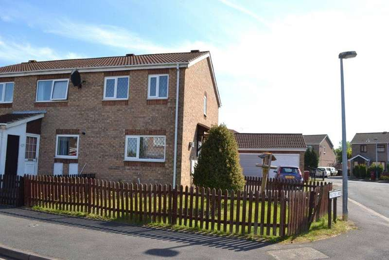 2 Bedrooms End Of Terrace House for rent in Proctors Way, Hibaldstow, North Lincolnshire, DN20