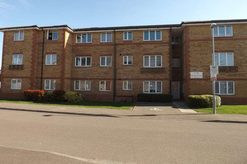 2 Bedrooms Flat for sale in Orchid Close, Luton, LU3