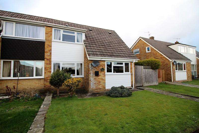 4 Bedrooms Semi Detached House for sale in Usk Close, Caldicot