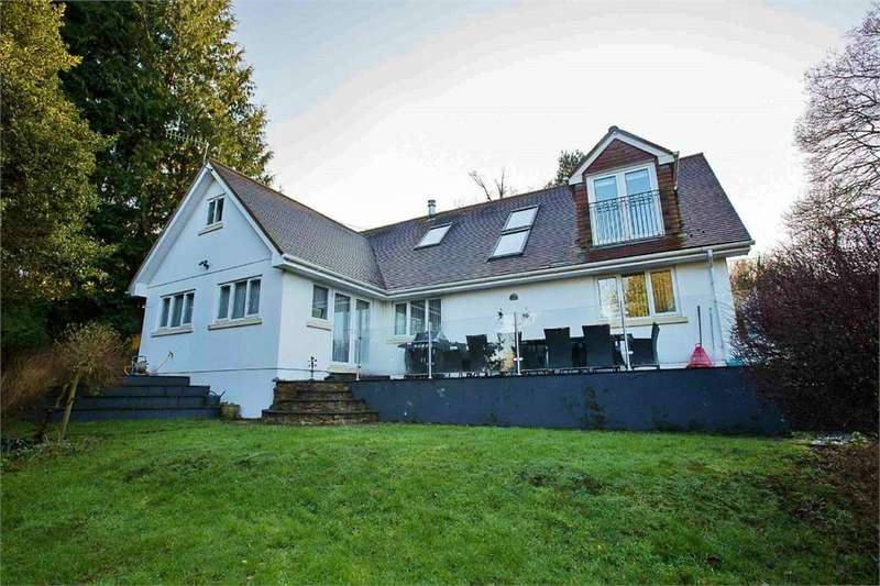 5 Bedrooms Detached House for sale in Rudry, Caerphilly