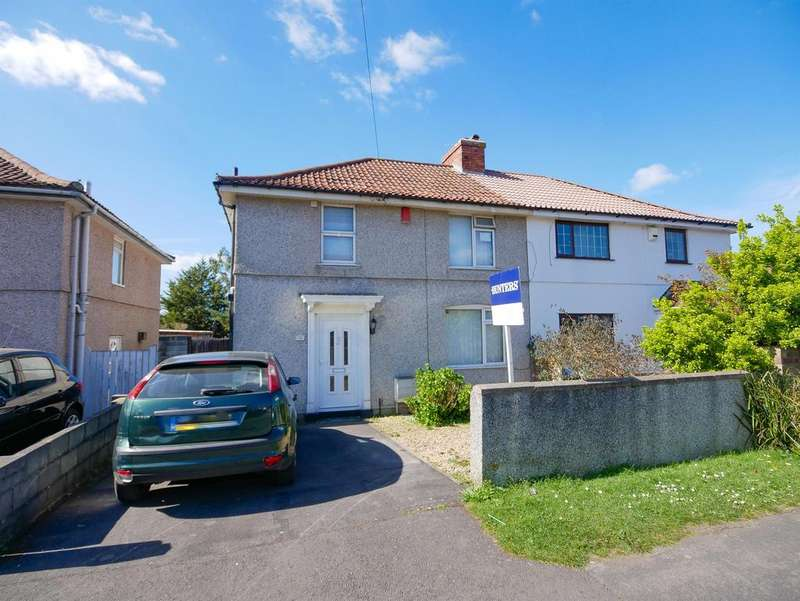 3 Bedrooms Semi Detached House for sale in Greenwood Road, Knowle, Bristol, BS4 2SX