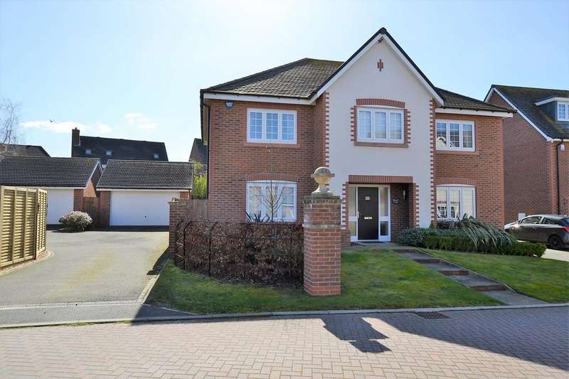 5 Bedrooms Detached House for sale in Shakerley Place, Somerford, Congleton
