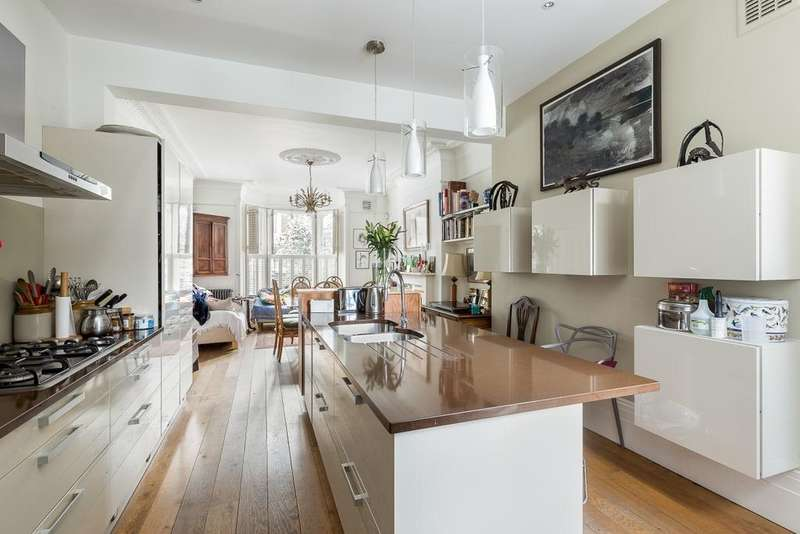 4 Bedrooms Terraced House for sale in Cromwell Grove, Brook Green, London, W6