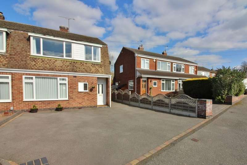 3 Bedrooms Semi Detached House for sale in Avon Road, Kenilworth, CV8