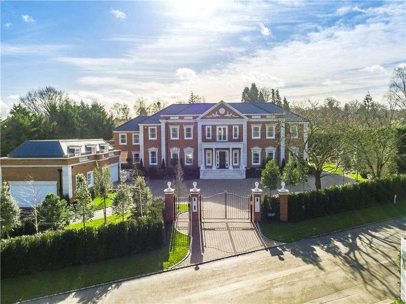 5 Bedrooms Detached House for sale in Titlarks Hill, Sunningdale, Ascot, Berkshire, SL5