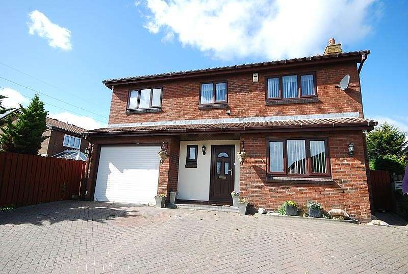 4 Bedrooms Detached House for sale in Cinderford Close, Boldon Colliery