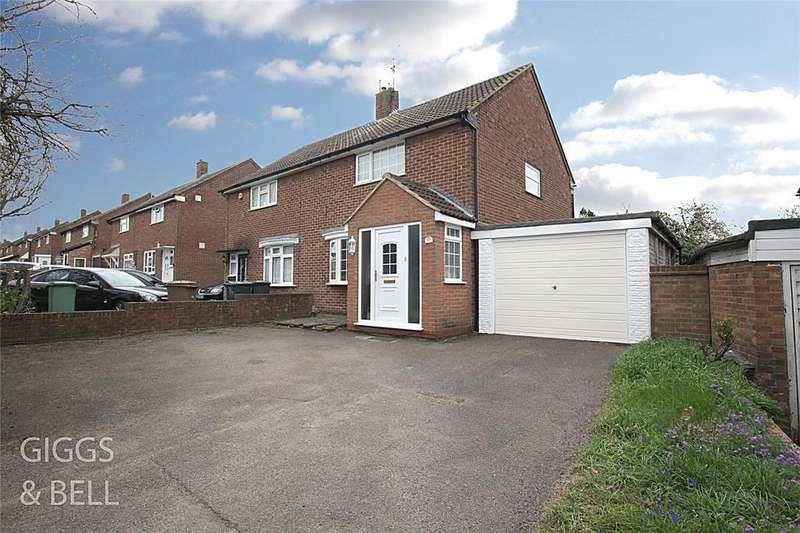 3 Bedrooms Semi Detached House for sale in Grampian Way, Luton, Bedfordshire, LU3
