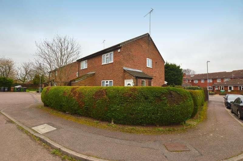 2 Bedrooms Semi Detached House for sale in Penda Close, Luton, Bedfordhsireshire, LU3 3UT
