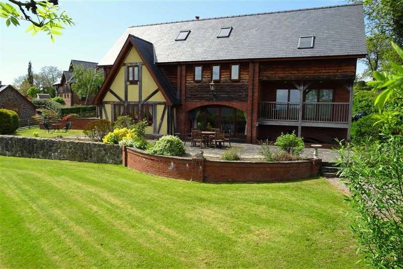 5 Bedrooms Detached House for sale in Llwyn Derw, Tregynon, Newtown, Powys, SY16