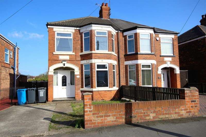 4 Bedrooms Semi Detached House for sale in Belgrave Drive, Hull