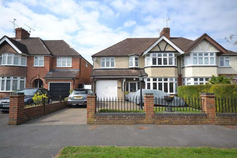 4 Bedrooms Semi Detached House for sale in Hungerford Drive, Reading