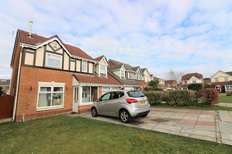 5 Bedrooms Detached House for sale in Turnberry Close, Moreton
