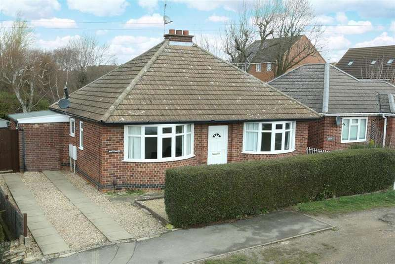2 Bedrooms Detached Bungalow for sale in Green Lane, Market Harborough